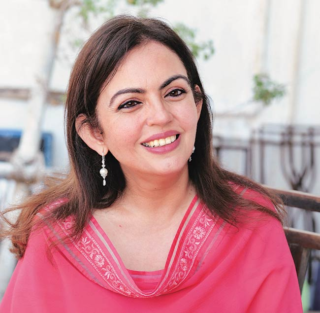 Nita Ambani on education for the youth.
